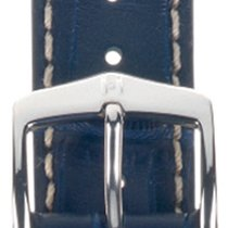 Hirsch Modena Uhrenarmband dunkelblau L10302880-2-20 20mm