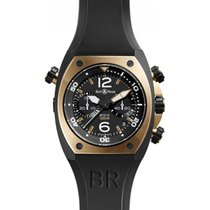 Bell & Ross BR 02 Chronograph -  Rose Gold Carbon