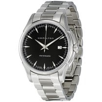 Hamilton Men's Jazzmaster Viewmatic Black Dial Watch
