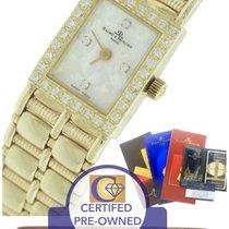 Baume & Mercier 14K Yellow Gold Diamond MOP Mother of...
