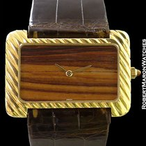 Gérald Genta Ornate 18k Wood Dial