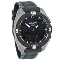 Tissot T-Touch Expert Mens Titanium Swiss Solar Quartz Watch...