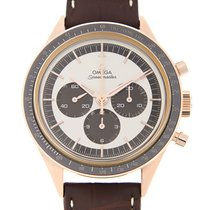 歐米茄 (Omega) Speedmaster 18k Rose Gold Silver Manual Wind...