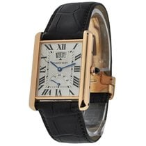 Cartier W1560003 Tank Louis Cartier in Rose Gold with Large...