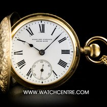 West End Watch Co. 18k Yellow Gold Fully Engraved Full Hunter...