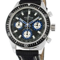 Fortis Marinemaster Vintage Limited Edition Chrono - Grey w/...