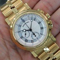 Breguet Marine Chronograph 18k Yellow Gold 5827ba/12/am0 - 5827ba
