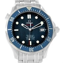 Omega Seamaster Midsize James Bond Blue Wave Dial Watch...