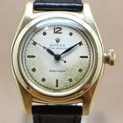 Rolex Oyster Speedking 14K Yellow Gold Bubble Back