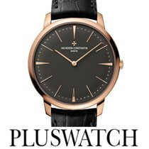 Vacheron Constantin Patrimony Grey Dial 18k Pink Gold Manual  T