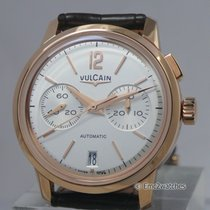 Vulcain 50s Presidents' Watch Chronograph ~NEW~ 70% OFF