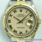 Rolex Oyster DateJust 16263 Turn-o-graph quadrante beig...