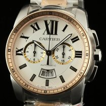 Cartier New Calibre Automatic W7100042 Steel & Gold...