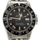 Rolex 1675 GMT-Master Serial 338xxxx Black Bezel Medium Patina