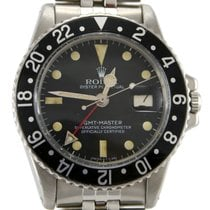 Rolex 1675 GMT-Master Serial 338xxxx Black Bezel Medium Patina
