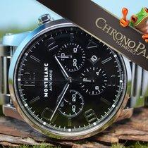 Montblanc 43mm Timewalker 7069 Chronograph mit Stahlband und...