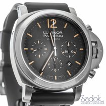 Panerai Luminor Daylight Automatic Chronograph 44mm Black Dial...