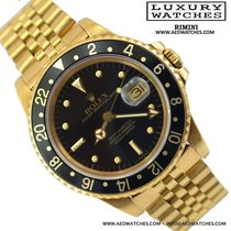 Rolex GMT Master 16758 yellow gold 18K nipple dial Tiger Eye...