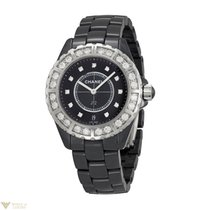 Chanel J12 Diamond Ceramic Diamonds Unisex Watch