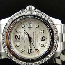 Breitling Mens Breitling Superocean With Custom Genuine 45 Mm...