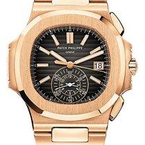 Patek Philippe Nautilus Chronograph 59801R-001 Rose Gold With...
