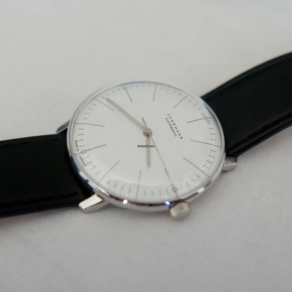 junghans max bill automatic for 786 for sale from a. Black Bedroom Furniture Sets. Home Design Ideas