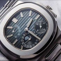 "Patek Philippe [NEW][CAN NAME][SEALED] Steel Blue ""Nautilu..."