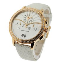 Blancpain 3626-2954-58A Leman Womens Chronograph Flyback Watch...