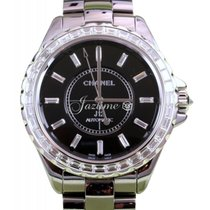 Chanel J12 H3155 Gray Titanium Ceramic Diamond 41mm Automatic...
