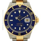 Rolex stainless steel and 18k yellow gold Submariner