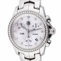 TAG Heuer Ladies Link Chronograph : CJF1314
