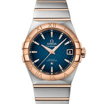 Omega 12320382103001 Constellation 38mm Gold Men's Watch