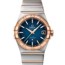 Omega 12320382103001 Constellation 38mm Gold Men's Watch