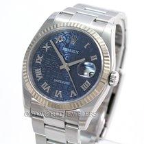 Rolex New Style Datejust 116234 Steel Blue Jubilee Dial