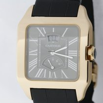 Cartier Santos Dumont Power Reserve in 18K rose gold - NEW...