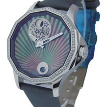 Corum Admirals Cup Legend Mystery Moon in Steel with Diamond...