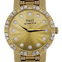 Piaget Dancer 80564 18k  Gold Diamond Dial Ladies Watch