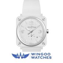 Bell & Ross BR S Quartz 39mm Midsize Watch Ref. BRS-WH-CES...