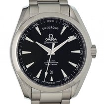 Omega Seamaster Aqua Terra 150m Co-Axial Day-Date Stahl...