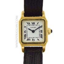 Cartier 18k yellow gold Santos Dumont Mini