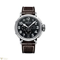 Zenith Heritage Pilot Type 20 Annual Calendar Stainless Steel...