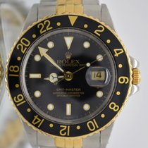 Rolex 16753 GMT Master 18k/SS Box and papers Full Set 1986's