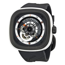 Sevenfriday Industrial Engines Automatic Grey and White Dial...