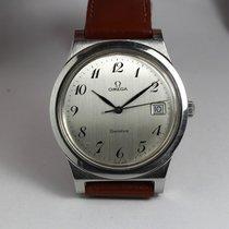 Omega Genève, steel, vintage, 1972, rare dial