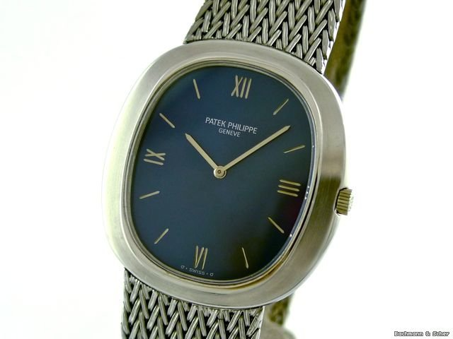 Patek Philippe , Ellipse Gentleman&amp;#39;s Automatic, Ref. 3589, Warranty Papers
