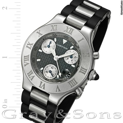 Cartier Chronoscaph 21 W10125U2