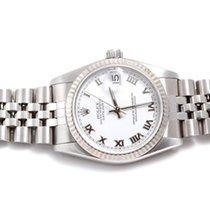 Rolex midsize 68274 Datejust White Roman Dial