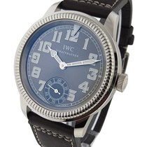 IWC 325404 IWC Vintage Pilot Hand Wind - White Gold on Strap...