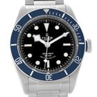 Tudor Heritage Black Bay Blue Bezel Steel Watch 79220