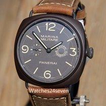 Panerai PAM 339 Radiomir Marina Militare 8 Day Giorni Brevetta...